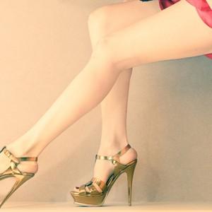 モデル 脚